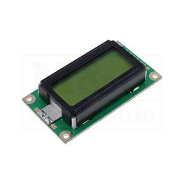 Picture of DISPLEJ LCD LCM0802ASL