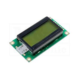 Picture of DISPLEJ LCD RC0802A-YHY-ESX