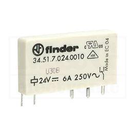 Slika za RELEJ FINDER F3451-24 1XU 6A 24V