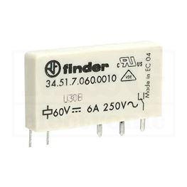 Slika za RELEJ FINDER F3451-60 1XU 6A 60V