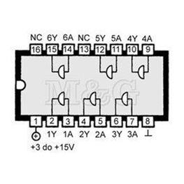 Slika za IC C-MOS 4050 Smd