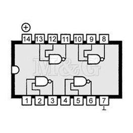 Slika za IC TTL ADVANCED H.S.CMOS 74AC00 Smd