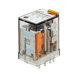 Slika za RELEJ FINDER 55.32 DPDT 10A 110V AC