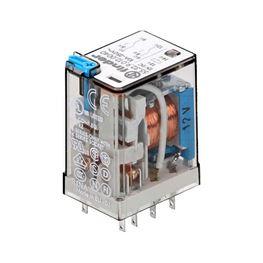 Picture of RELEJ FINDER 55.32 DPDT 10A 12V DC